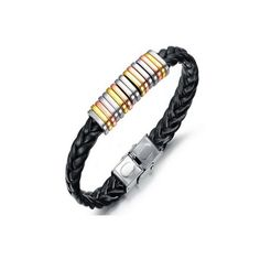 Alessandro - Charm Leather Bracelet Men