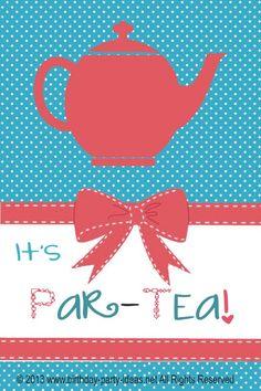 Tea Birthday Party I