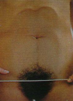 Ana Mendieta. Glass on Body Imprint. 1972