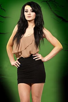 Paige.....She may tag-team with AJ Lee for WrestleMania 2015 to beat the Bella Twins.