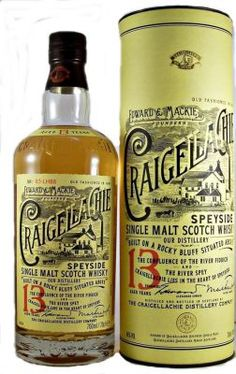 Craigellachie 13 year old Single Malt Scotch Whisky 46% 70cl Craigellachie still uses old-fashioned Worm Tubs to cool its spirit, this bestows the whisky with extra flavour