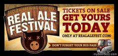 DuClaw Real Ale Festival 9/8 - Tickets Selling Fast