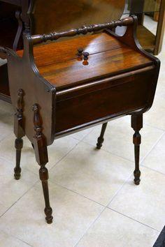 Vintage Martha Washington Sewing Cabinet with Original Spool ...