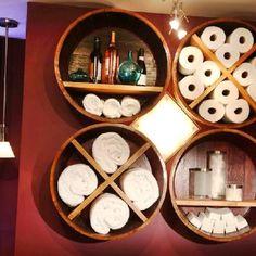 896 - Idee per #arredamento da #botti in legno usate.