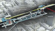 Going Underground's Blog: 3D Tube Maps & 3D Cutaway Tube Station Diagrams