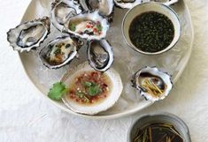 Spice up your finger food with three lip-smacking Asian dressings to serve with oysters, courtesy of Chang's
