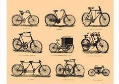 dibujos de bicicletas antiguas - Buscar con Google