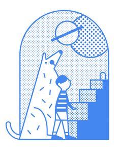 Portal via Jefferson Cheng #illustration