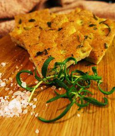 Antipastaa: Gluteeniton ja viljaton focaccia