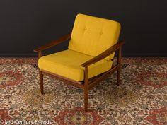 Vintage Sessel - 60er Sessel, Sofa, 50er, Vintage - ein Designerstück von Mid-Century-Friends bei DaWanda