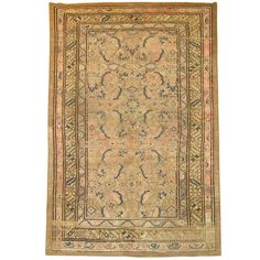 1stdibs | Antique Serab Camel Hair Rug