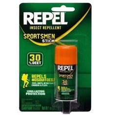 Repel solid insect repellent stick