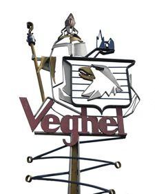De vier historische, smeedijzeren plaatsnaamborden die ooit de invalswegen van Veghel sierden, worden gerestaureerd.
