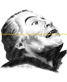Christopher Lee Dracula AD1972 Ballpoint pen