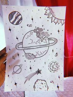 Art Sketchbook Ideas Doodles – Art World 20 Love Doodles, Simple Doodles, Space Drawings, Easy Drawings, Astronaut Drawing, Pinturas Disney, Artist Sketchbook, Fashion Sketchbook, Sketchbook Ideas