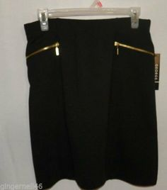 George Black Skirt Size Small 4-6 New with Tag on Wanelo