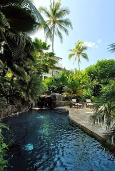 Awesome 60+ Warm Tropical Backyard Landscaping Ideas https://architecturemagz.com/60-warm-tropical-backyard-landscaping-ideas/