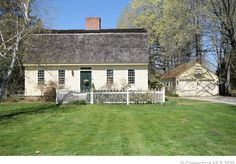 Old world charm with today's updates this 1790 Georgian with gambrel roof will surprise you.  Located in the historic district of Windsor, this home has cedar siding and a cedar roof, 3 fire places, 9 rooms – 5 bedrooms, great room, living room, kitchen  and 2 full baths, hand made cabinetry and windows, full cellar, high post and beam ceilings, central air, forced hot air, almost a full acre of land with gardens, brick walkways, and so much more. Home completely redone 30 years ...