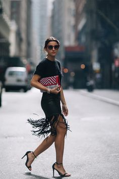 Influencers en Nueva York Fashion Week http://stylelovely.com/galeria/influencers-en-new-york-fashion-week/
