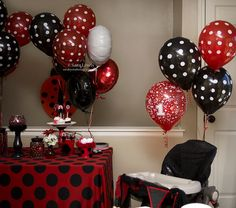 Lady Bug party * 1st Birthday Party