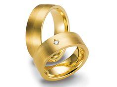 Hermoso diseño en oro amarillo de 18k con  diamante