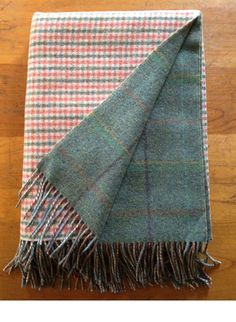 For the terminally indecisive, this double-sided blanket is actually two blankets stitched together. From Johnstons of Elgin.