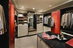 Linear Solutions Closet by Wood-Mode contemporary-closet
