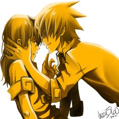 Soul and Maka: In for the kiss by Jazzie560 on DeviantArt