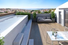 Coporgest presented yesterday another emblematic project: Álvares Cabral Premiu… - All About Balcony 3 Bedroom Apartment, One Bedroom, Balcony Lighting, Classic Building, Baroque Architecture, Pent House, Lisbon, Terrace, Swimming Pools