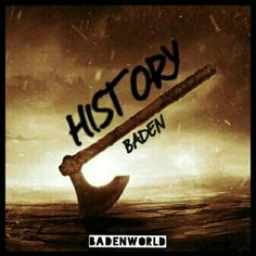 Find my #DJBADEN track called #HISTORY on #SOUNDCLOUD here: http://soundcloud.com/djbaden/baden-history