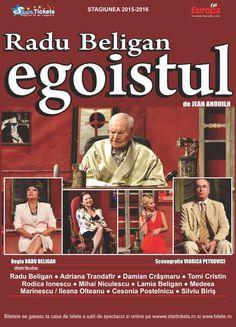Luni, 26 Octombrie 2015, ora 19:30, Teatrul National Vasile Alecsandri, Iasi