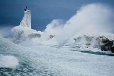 Image result for Lake Michigan ice