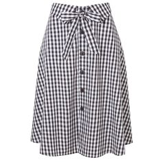 Checks button down tie Blouse And Skirt, Dress Skirt, Modest Fashion, Fashion Outfits, Womens Fashion, Skirt Outfits, Cute Outfits, Jupe Short, Cute Skirts