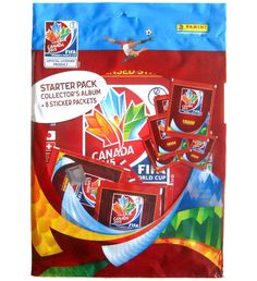 Panini Canada 2015 Starter Pack Women's World Cup, Pop Tarts, Packing, Album, Canada, Bag Packaging, Card Book