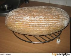 Chleba podle Romana Vaňka Pavlova, Dairy, Cooking Recipes, Sweets, Cheese, Baking, Cake Ideas, Breads, Patterns