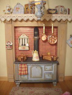 Cocina. Pedrete Trigos miniaturas.