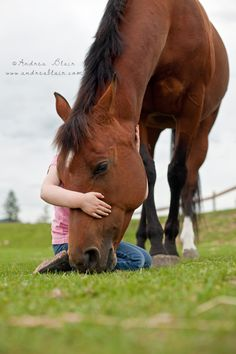 Girl and her horse