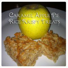 Caramel Apple Rice Krispy Treats Recipe Yum!