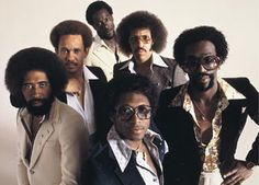 Big 'fro's, big glasses, big collars, big sound. The Commodores, Easy Like Sunday Morning