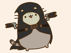 Pusheen Reaper by Eckru on DeviantArt
