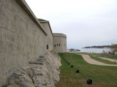 Fort Trumbull in New London County, Connecticut.