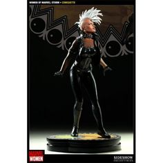 Women of Marvel : Storm Comiquette from Sideshow by Sideshow. $224.00. Limited Edition: 1000. Celebrating the Women of Marvel cover art series is Sideshow's Women of Marvel: Storm Comiquette based on the stunning work of comic artist Jelena Djurdjevic. Each piece is individually painted and finished, each with its own unique quality and detail that is the trademark of a handcrafted Sideshow Collectibles product. The Sideshow's Women of Marvel: Storm Comiquette is an outstandi...