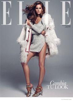 Izabel Goulart Poses for Xavi Gordo in Elle Spain Cover Shoot