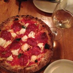 Milkflower Wood Oven pizza in Astoria, New York
