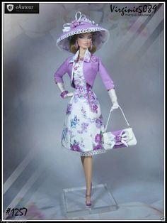 Tenue Outfit Accessoires Pour Fashion Royalty Barbie Vintage 1257 | eBay