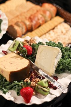Cheese & cracker tray at the vineyard  Picture By: David Braud Photography
