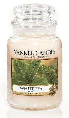 Thé blanc Bougie parfumée grande jarre - Boutique Yankee Candle Sarlat