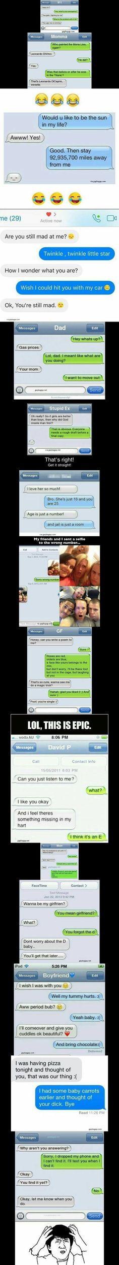 Top 15 Funniest Text Messages