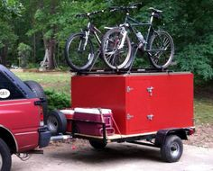 Read more about motorcycle camping gear people Check the webpage to learn more. Camping Trailer Diy, Diy Camper Trailer, Kayak Trailer, Box Trailer, Utility Trailer, Kayak Camping, Diy Camping, Camping Hacks, Outdoor Camping