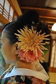 髪飾り 生花 着物 花嫁 - Google Search